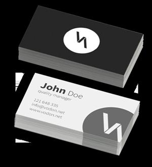 Visitenkarten Design Druck Startup Design Wien