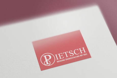 Logoadaption Pietsch Grabgestaltung