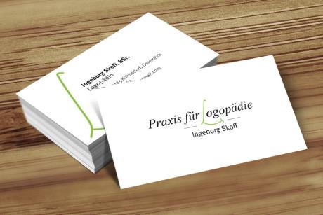 visitenkarten-praxis-fuer-logopaedie